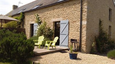 Charming renovated house for 2-8 persons Rhuys Peninsula