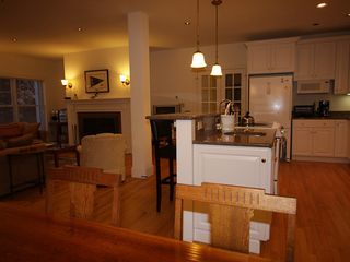 Boothbay Harbor house photo - The Great Room-Living, Dining and Kitchen