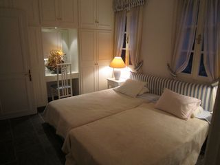 Spetses Island house photo - Master Bedroom Night