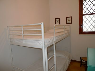 Bedroom 3 has bunks