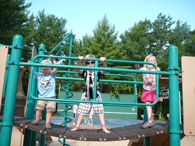 Glen Arbor playground & tennis courts