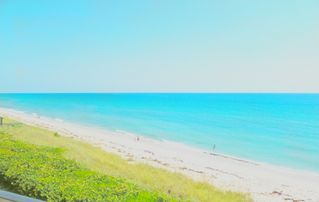 Hutchinson Island condo photo - View from the balcony, another sunny day