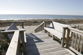 Oak Island house photo - To the beach