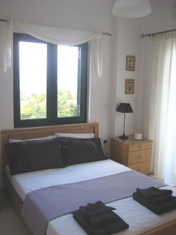 Double bedroom with private balcony