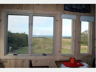 Chappaquiddick house photo - View from Sitting Room