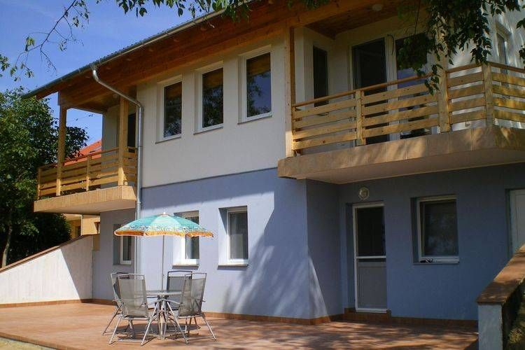 A holiday home on a small holiday park near picturesque Lake Balaton.