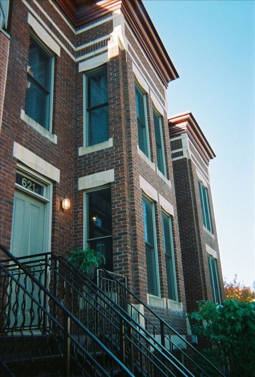 Capitol Hill townhome rental - we'll leave the light on for you too!