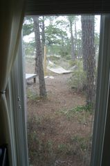 Dauphin Island house photo - Ground floor bedroom overlooks backyard views