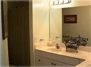Majestic Sun condo rental - Spacious Master Bathroom with His and Her Sinks