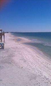 Dauphin Island house rental - View from porch