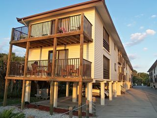 Manasota Key condo photo - Condo # 121 Lower Unit - Private Parking Under Unit