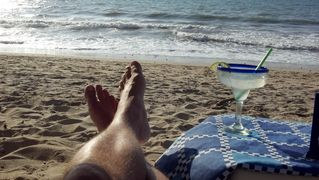 Puerto Vallarta condo photo - My favorite spot right on the beach in front of the condo