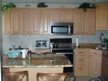 Granite Counter, New Bosch Appliances