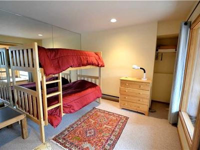 Twin Bunk Bed in the Fourth Bedroom