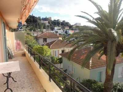 3 Rooms with sea view, terrace, 10 minutes from the sea