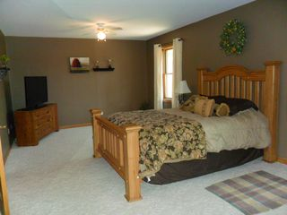 Brethren house photo - Main level Master Suite with 42 inch HD TV