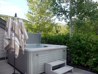 Deer Valley townhome photo - Private Hot Tub
