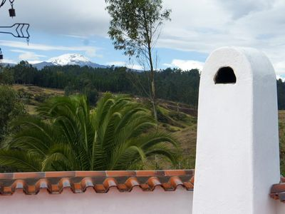 Mountain View from the villa