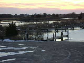 Charlestown house photo - Winter View of Ningret Pond and Marina