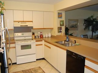 Wild Dunes condo photo - Spacious kitchen for cooking up steaks and seafood for dinner