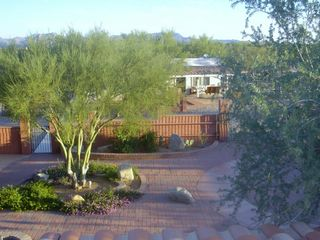 Tucson studio photo - View from Balcony overlooking Patio
