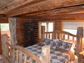 Lake Placid cabin photo - Master Bedroom with King