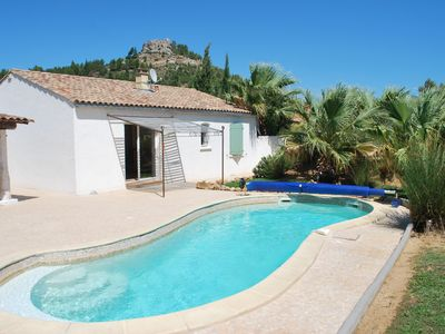 A beautiful house full foot for 6 people, with private heated pool