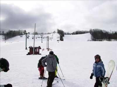 Ski Hill. Downhill, Cross Country, Tubing, Mt Ashwabay, Bayfield, WI