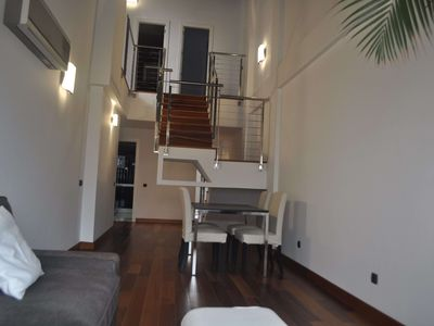 Luxury Penthouse with solarium and views of the ocean just at Las Canteras beach