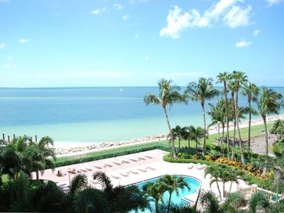 This is the spectacular view from the lanai..it just doesn't get any better!