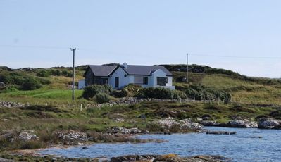 Ocean Front Home with Spectacular Views Overlooking Mannin Bay