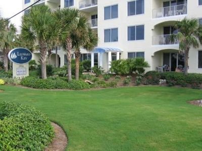 Leeward Key is beautifully landscaped