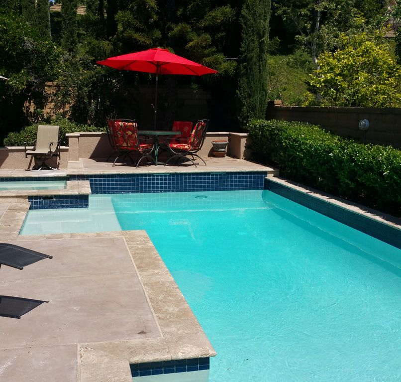 Mansion Pools Close Up: California Dreamin': Large House /Pool/Jacuzzi, Pool Table