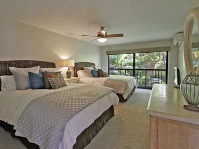 2nd bedroom with two queen beds.