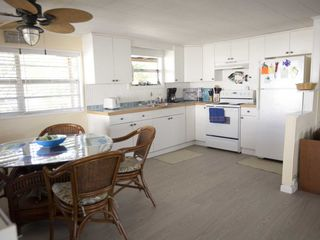 Little Gasparilla Island cottage photo - Open kicthen dining area
