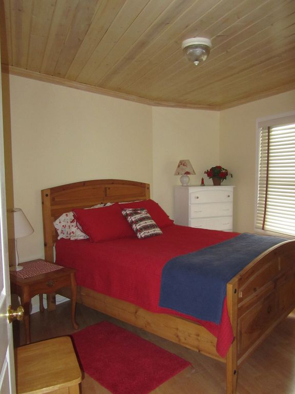 Main-level bedroom.