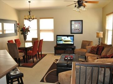 Mesa condo rental - Beautiful furnished open kitchen to the Living Room located on second