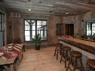 Sundance cabin photo - First floor wet bar with ice maker and wine fridge