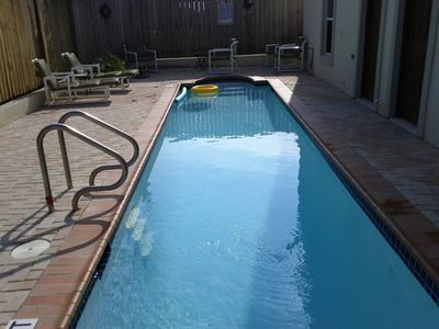 South Padre Island condo rental - 32 feet in length