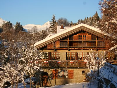 Megeve chalet rental - Chalet in Winter