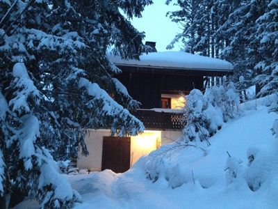 Great mountain chalet