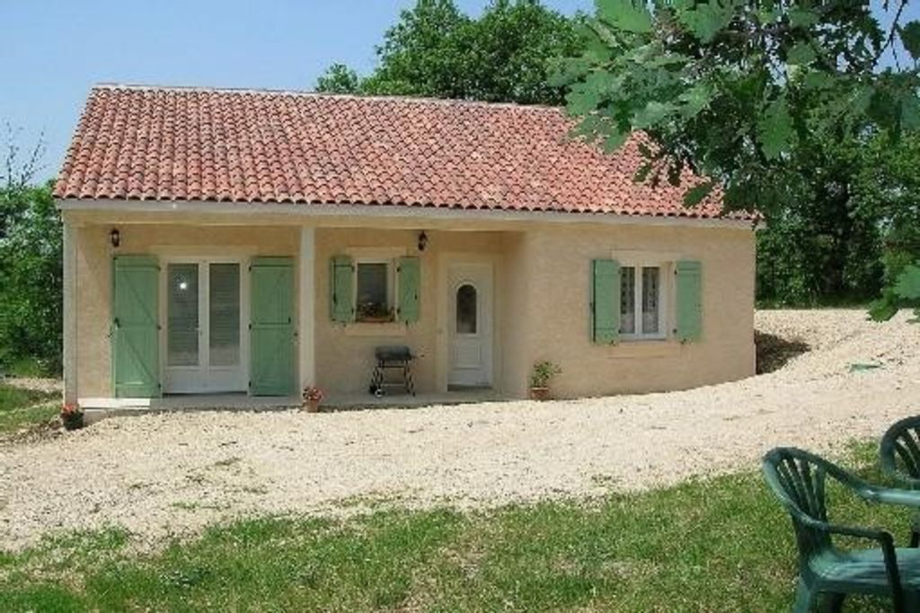 House pleasant, peaceful and well laid out in the heart of Quercy Regional Park