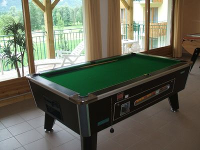 Part of Games Room Facilities