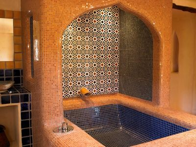 Turkish style massive bathroom
