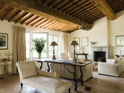 Lucca villa rental - Sitting room