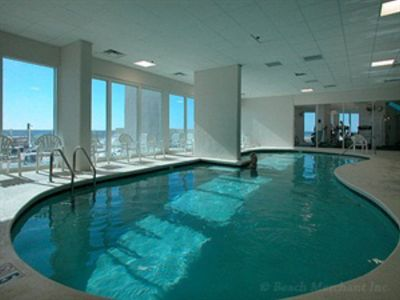 Indoor Pool for cool or rainy days.