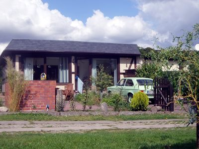Small charming cottage - Behind the reeds - directly at the Uckersee