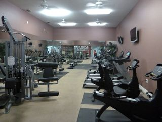 North Padre Island condo photo - On property fitness center with sauna