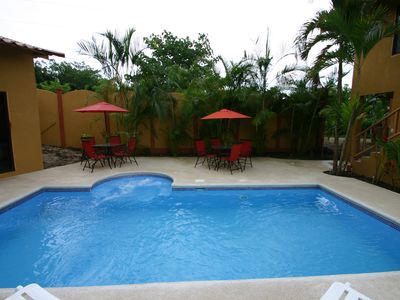 Santa Teresa villa rental - Large Pool Deck