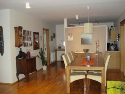 South Iceland apartment rental - The dining area.